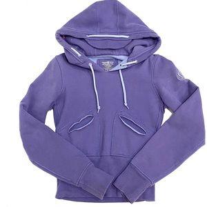 RARE Vintage Lululemon Purple Hoodie Size 0
